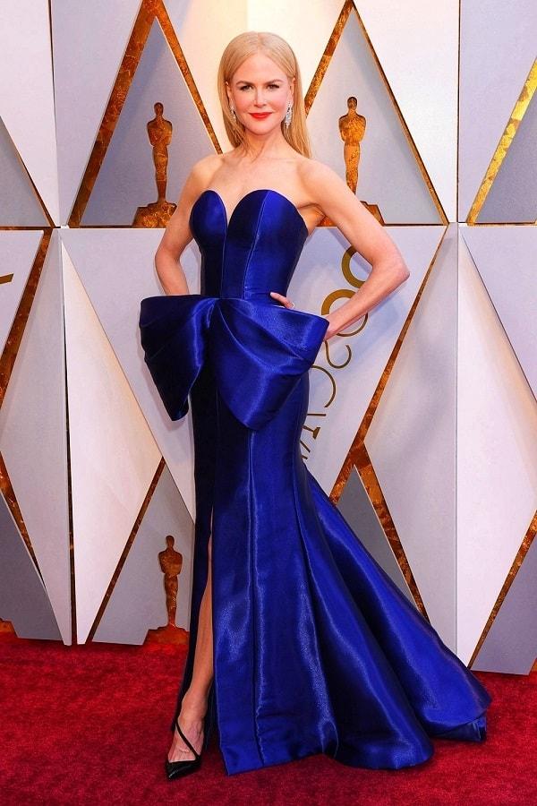 Николь Кидман в шикарном платье