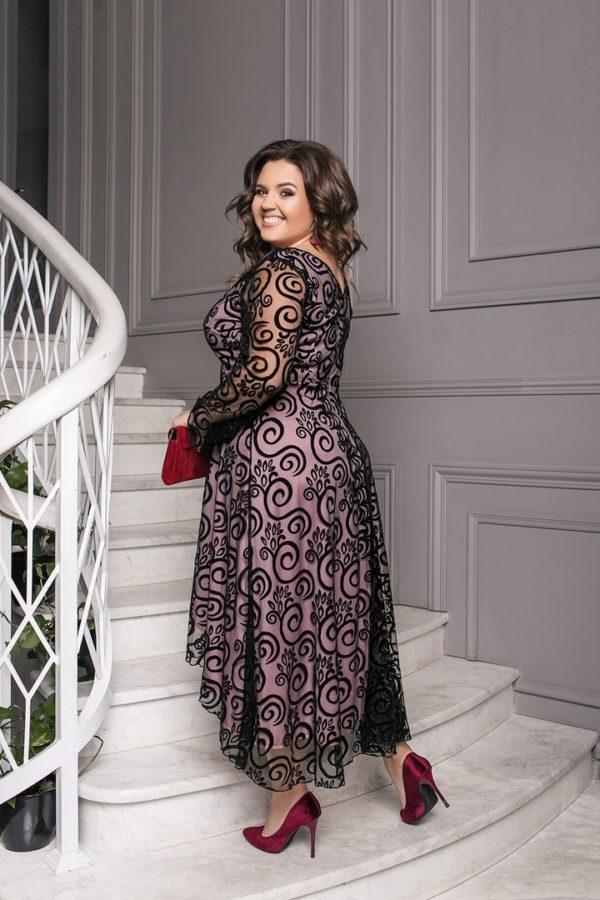 черное платье 58 размер