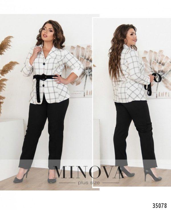 Черные брюки женские с пиджаком
