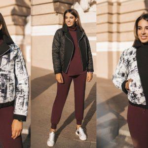 короткая курточка женская