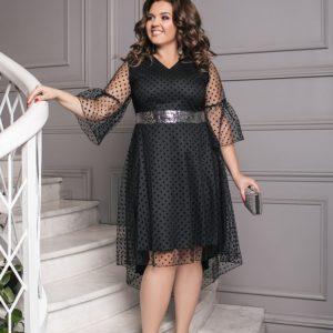 красивое вечернее платье большого размера