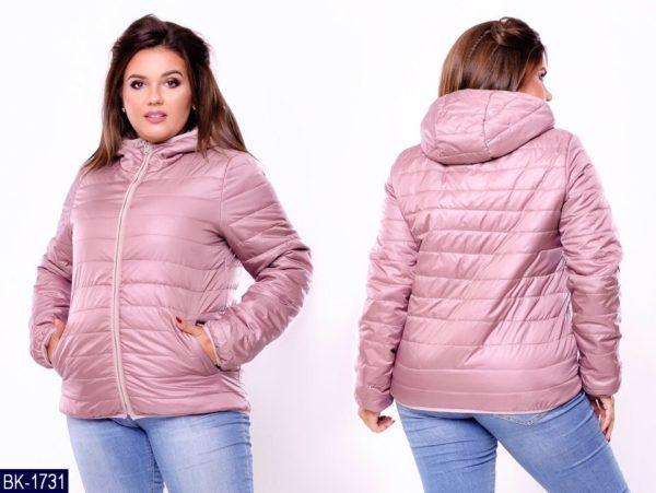 куртка осенняя больших размеров