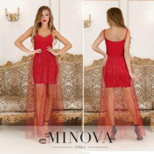 Очаровательное мини-платье