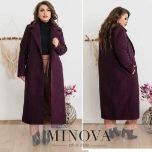 Пальто без застёжек женское
