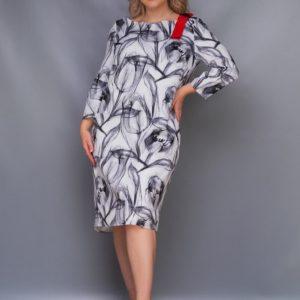 платье с принтом красивое