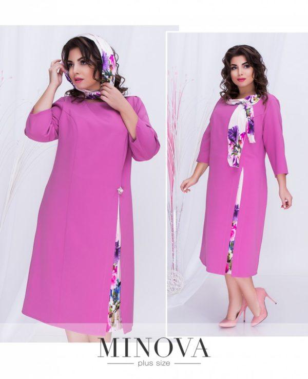 платье с разрезом с боку для полных женщин