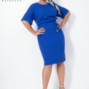 синее платье для девушек