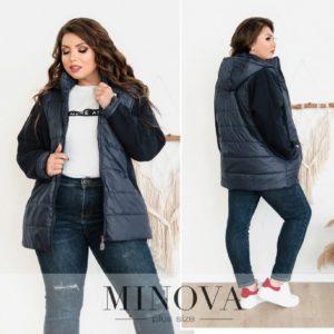 теплая куртка из мягкой ткани женская