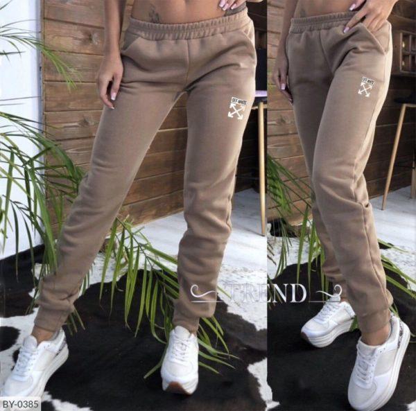 теплые спортивные брюки женские