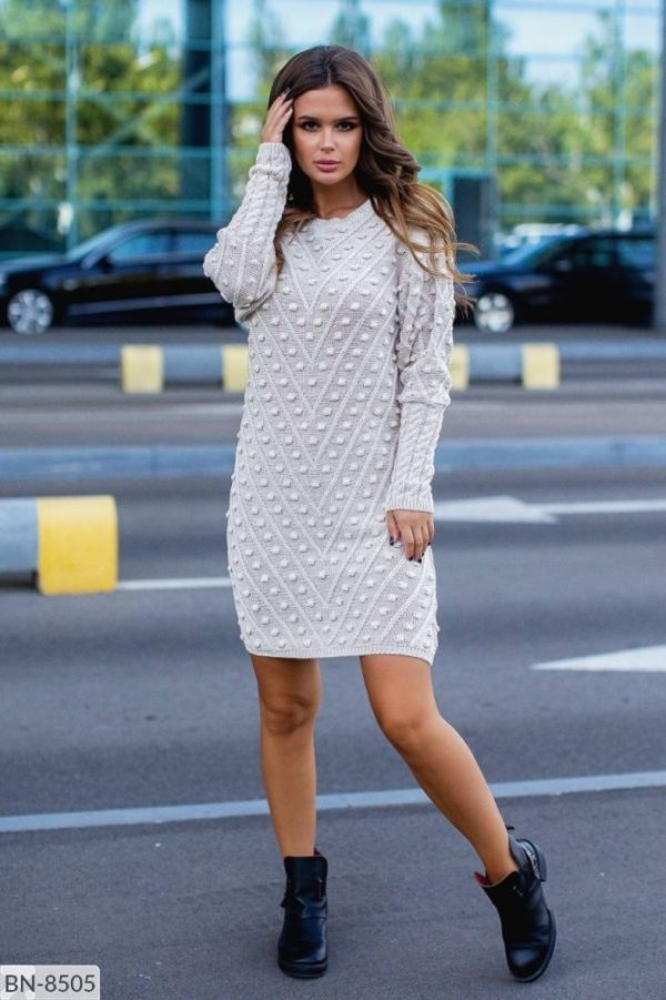 Вязаное платье Турция