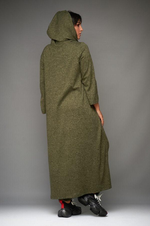 зеленая женская кофта