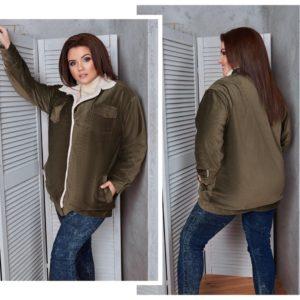 """""""Куртка бомбер женская больших размеров"""""""