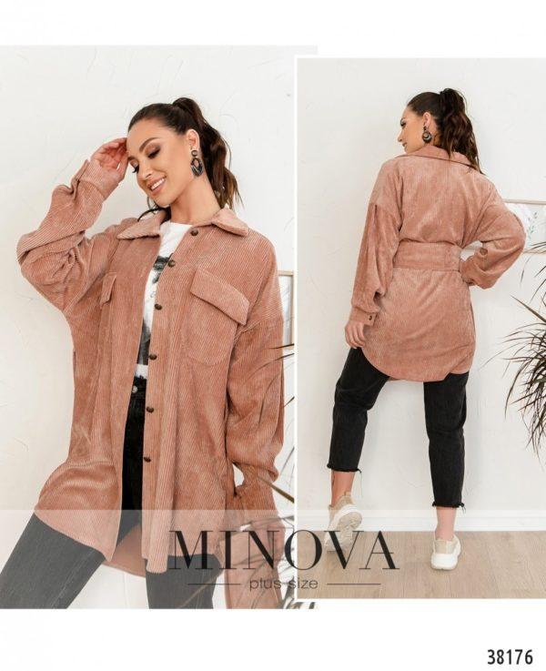 Модный пиджак-рубашка для женщин