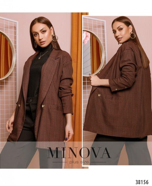 Пиджак женский для полных - Производство Minova
