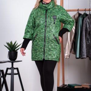 Весенняя женская куртка теплая